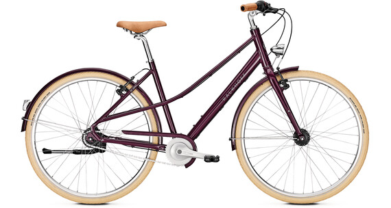 "Kalkhoff Scent Glare Urban Mixte 28"" marsalared"